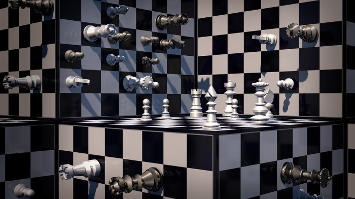 Cube Chessboard